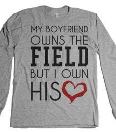Football Baseball Girlfriend Shirt-Unisex Heather Grey T-Shirt