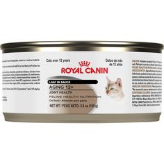 Royal Canin Feline Health Nutrition Aging 12  Loaf in Sauce Canned Cat Food, 5.8-Ounce, 24-Pack * Details can be found by clicking on the image. (This is an affiliate link and I receive a commission for the sales)