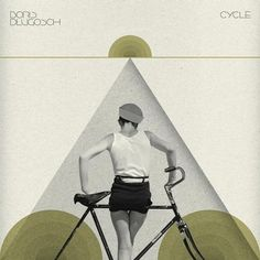 """Boris Dlugosch - """"Cycle"""" Bicycle Art, Love T Shirt, Print Design, My Love, Image, Cycling, Posters, Graphics, Pretty"""