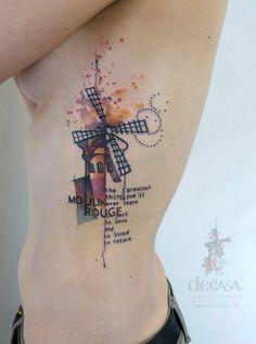 #tattoofriday - Carola Deutsch Decasa Kreativstudio