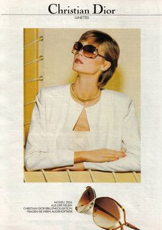 Hotel de Ville  A Vintage Eyewear Blog Dior Sunglasses ae6118bf4fd