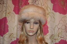 Vintage cream coloured real fur Russian style by ClaireLouVintage