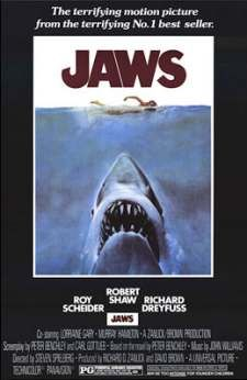 Jaws-one of the all time best movies ever! Lord help anyone who gets it in their head that it needs to be remade....it's still perfect just the way it is