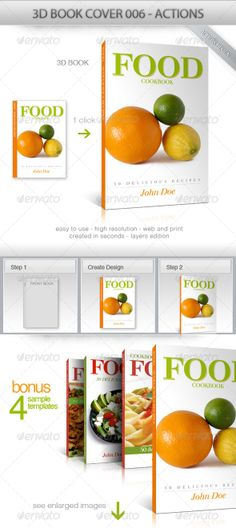 3D Book Cover 006