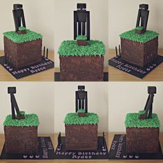 Image result for enderman cake