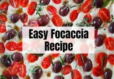 Easy Authentic Focaccia Recipe You Need To Be Making Today Crockpot Recipes, Keto Recipes, Cooking Recipes, Easy Focaccia Recipe, Mexican Food Recipes, Dessert Recipes, Fun Valentines Day Ideas, Sugar Free Desserts, Delish
