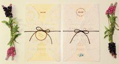Convite de Casamento com Doilie Faça Você Mesmo | http://blogdamariafernanda.com/convite-de-casamento-com-doilie