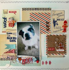 OMG is this layout cute! :: a dog's life