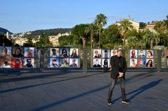 Mascherine e arte: Bruno Bébert ed i suoi ritratti nizzardi Street View, Fotografia, Art