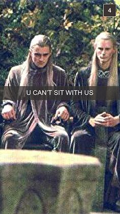 If you're a fan of LotR, then you will understand