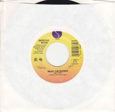 "Depeche Mode - Enjoy The Silence - Memphisto - 7"" 45 RPM Vinyl Jukebox Record / Martin L. Gore #Alternative #Rock #Music"