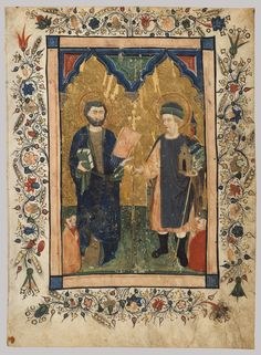 Saint Mark the Evangelist and Saint Sinibaldus Venerated by Members of a Lay Confraternity