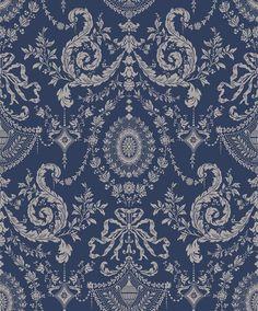 Cole & Son Wallpaper 88/10043.CS Woolverston Blue