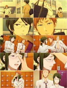 Kabakura Tarou x Hanako Koyanagi / Wotaku ni Koi wa Muzukashii Me Me Me Anime, Anime Love, Anime Guys, Otaku, Koi, Manga Anime, Sanrio Danshi, Anime Qoutes, Anime Group