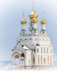 Temple of Peter and Fevronia of Murom, Voronezh, Russia.