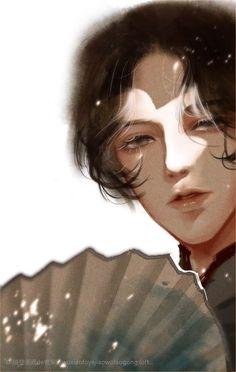 Aesthetic Drawing, Aesthetic Art, Handsome Anime Guys, Anime Hair, Manga Illustration, Boy Art, Cute Cartoon Wallpapers, Beauty Art, Chinese Art