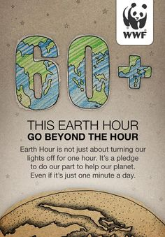 Earth Hour 60+ iPhone App | The Inspiration Room