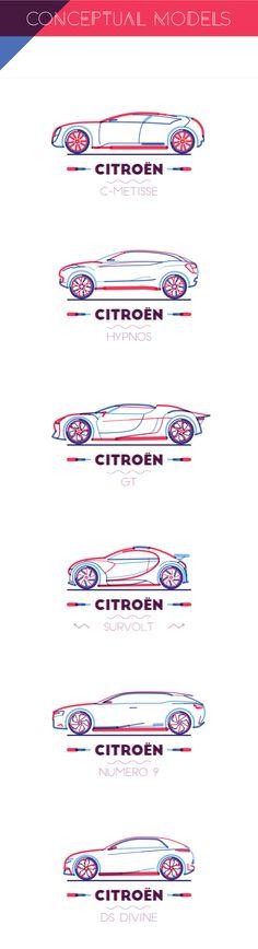 CITROËN conceptual models