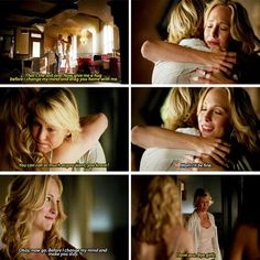 "#TVD 5x01 ""I Know What You Did Last Summer"" - Caroline and her mom"