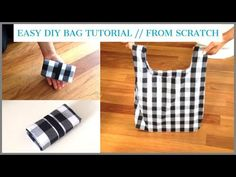 DIY BAG/TOTE BAG/HANDMADE SHOPPING BAG/bolsa diy/ bolsa de bricolaje/coudre un sac/DIYバッグ/ถุงหิ้วผ้า - YouTube Tote Bags Handmade, Diy Tote Bag, Diy Sac Cabas, Diy Bags Tutorial, Purse Tutorial, Bag Tutorials, Sewing Tutorials, Reusable Grocery Bags, Creation Couture