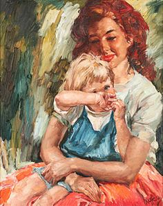 Charles Roka  Photo Sketch, Sketch Painting, Mother And Child, Sculptures, Sketches, Infants, Children, Mothers, Youth