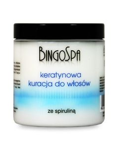 BingoSpa Keratynowa kuracja do włosów ze spiruliną
