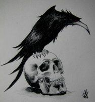 I've always loved this idea for a tattoo ever since I got my Mudvayne t-shirt. Thanks for the idea guys! ;)