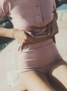 womens style inspiration pink pastels total knit