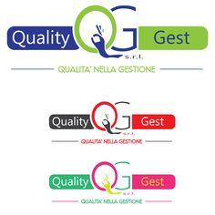 Logo aziendale per società di gestione delle telecomunicazioni.  QUALITY GEST s.r.l (proposta 4)