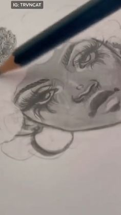 Art Drawings Sketches Simple, Pencil Art Drawings, Drawing Tips, Drawing Ideas, Art Inspiration Drawing, Art Inspo, Posca Marker, Desenho Tattoo, Digital Art Tutorial