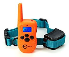 Esky Dog Training Collar Rainproof Rechargeable LCD Shock Collar 100 Level Vibration Static Shock >>> Be sure to check out this awesome product.(This is an Amazon affiliate link)