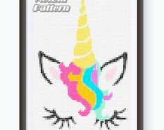 Modern Counted Cross Stitch Pattern Instant by NesztaPattern