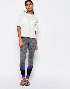 7e58c81142db South Beach Grey Trim Legging at asos.com. Leggings BianchiFinitura  GrigiaPantaloni ...