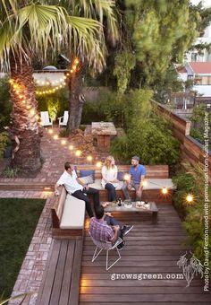 Sunset Magazine entertainment garden