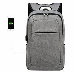 407245058e Kopack Computer Backpack 17 Inch Water Resistant USB Port Anti-Theft Slim  Travel. Christmas Gifts For BoyfriendBoyfriend ...