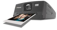 The Polaroid makes a comeback with this *digital* version that instantly prints photos using ZINK inkless paper.
