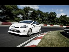 Toyota Prius Plug in Hybrid 700 MPG Nurburgring lap record - behind the scenes.