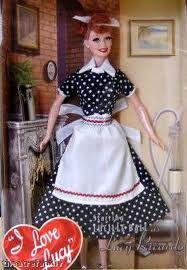 I Love Lucy Barbie.