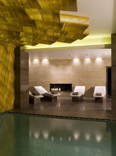 Contemporary SPA Design in Istanbul by Hirsch Bedner Associates | Freshome