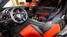 2019 Mercedes AMG GT4 interior design
