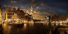 Grand Place, Brussels, Belgium  Belgium has so much more to offer than their chocolate!