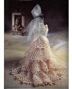 La muñeca de novia Belle colección Miss por grammysyarngarden