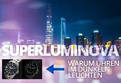 Superluminova, Tritium, Radium – Warum Uhren im Dunkeln leuchten  #luminova #lumibrite #superluminova #illumination #illuminated #leuchtzeiger #leuchtfarbe #leuchtuhr #lumineszenz #tritium #radium #gtls #watches #uhren #nachtleuchten #citylights #night