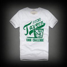 アバクロ メンズ Tシャツ Abercrombie&Fitch Baxter Mountain Tee Tシャツ