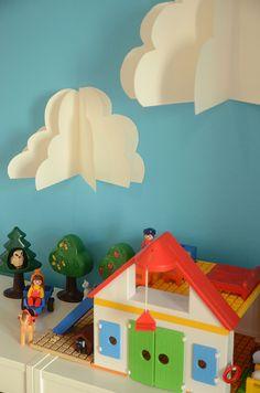 DIY vackra moln | Hemma med Helena