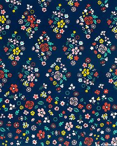 Blossom Festival' from the 'Tsuru' collection by Rashida Coleman Hale for Cloud9 Fabrics.