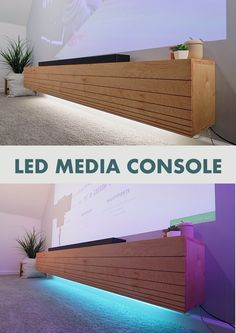 Stacked Media Console Media Console Modern Media