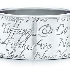 Tiffany & Co. Bangle, 925 Sterling Silver.Come with an original pouch, blue box, care card and shopping bag.   Product Name: Fashion Tiffany & Co. Ring It's a fashionable piece of accessory that'll definitely make a cool and cheap jewelry for you. Cheap and fashion stud earrings for girls or young women!