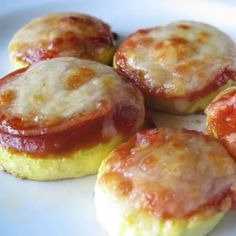 Pizza Bites are gluten-free, low carb but full of flavor!  Great finger food or lunch!