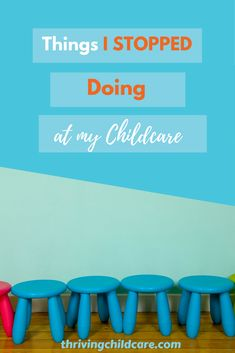 Things I Stopped doing at my Childcare and Why In the beginning, I would guess not many providers think about some things we don't want to do. Well, today I'm going there. Here are some things that I stopped doing at my Childcare … and why. Home Childcare, Childcare Activities, Daycare Rooms, Home Daycare, Daycare Ideas, Preschool Ideas, Daycare Decorations, Teaching Ideas, Opening A Daycare